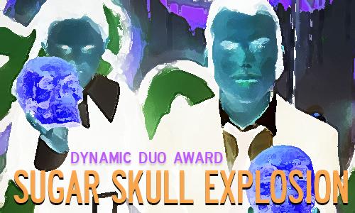sugar skull explosion