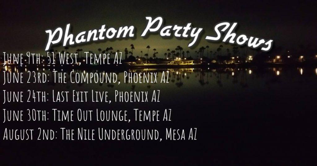 phantom party shows