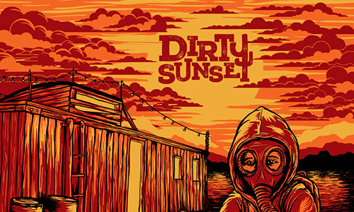 dirty sunset 500