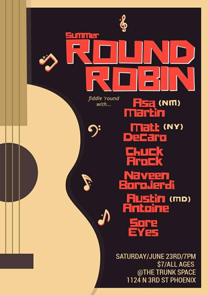summer round robin poster