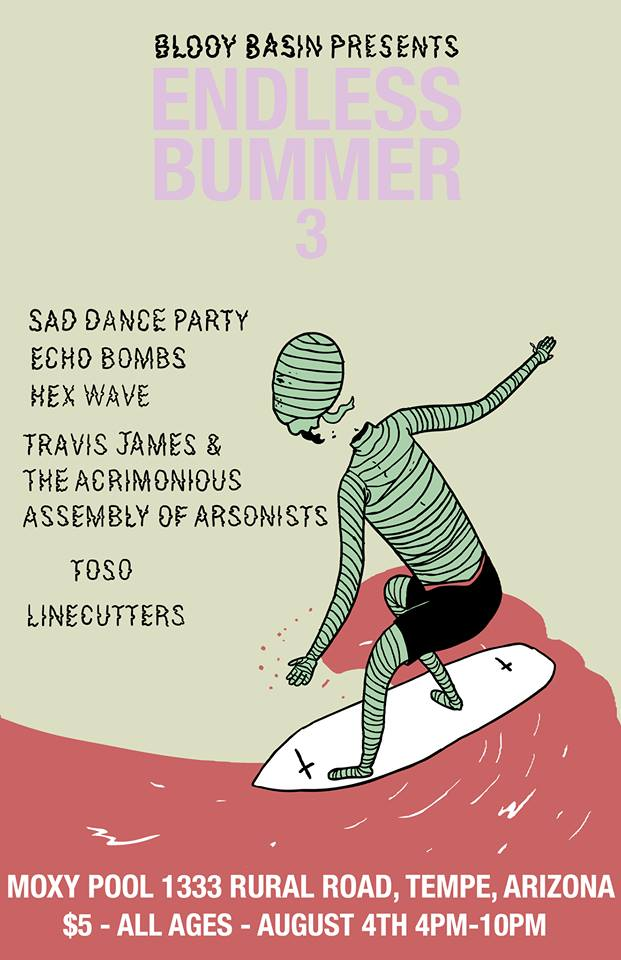 endless bummer 3 flyer