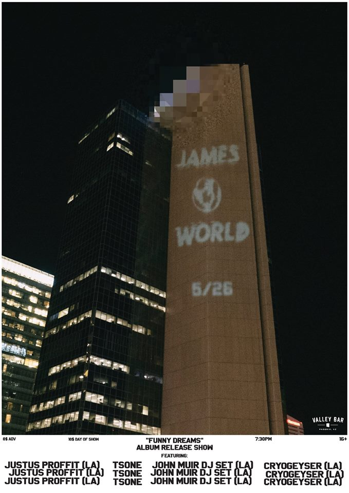 james world poster